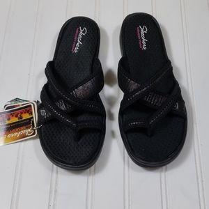 Sketcher Black Sandals